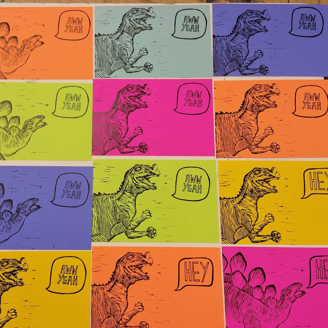dinopostcards